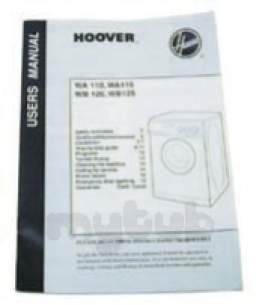 Hoover and Candy Spares Standard -  Hoover 05650825 Instruction Book
