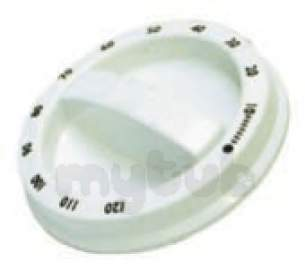Hoover and Candy Spares Standard -  Hoover 09087651 Control Knob Dryer White