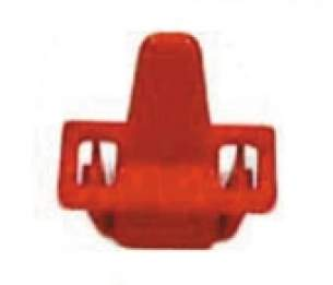Electrolux Group Spares Standard -  Zanussi 1250071105 Door Switch Pin Red