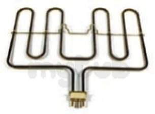Electrolux Group Spares Standard -  Zanussi 50026978002 Element Grill