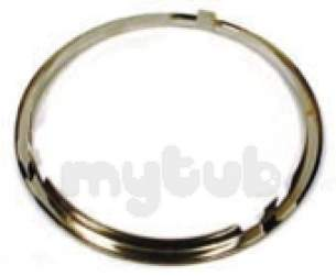 Stoves and Belling Cooker Spares -  Belling 082600023 Chrome Trim 7inch 90dlmk2
