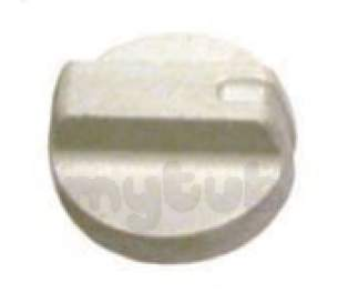 Indesit Domestic Spares -  Hotpoint 6225484 Control Knob White 6370