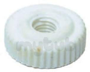 Indesit Domestic Spares -  Hotpoint 1800312 Spray Arm Nut 7802