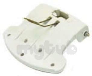 Indesit Domestic Spares -  Hotpoint 1604425 Door Handle White