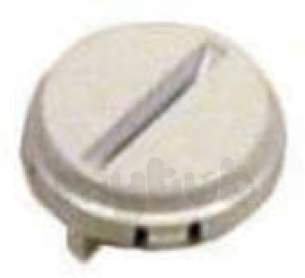 Indesit Domestic Spares -  Hotpoint 1601444 Door Button White 9515