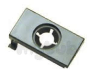Indesit Domestic Spares -  Hotpoint 1600950 Door Button Outer Brown