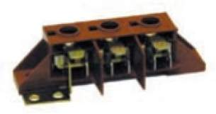 Indesit Domestic Spares -  Creda 6221181 Terminal Block 3 Way 48273