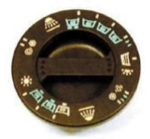 Indesit Domestic Spares -  Hotpoint 1600012 Timer Knob Wash Brown
