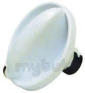 Indesit Domestic Spares -  Hotpoint 1602408 Timer Knob White 1051