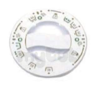 Indesit Domestic Spares -  Hotpoint 1601659 Timer Knob White Wm22