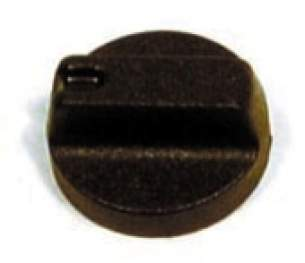 Indesit Domestic Spares -  Hotpoint 6225483 Control Knob Brown 6371