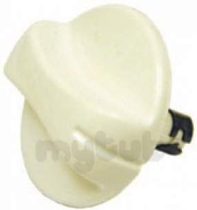 Indesit Domestic Spares -  Hotpoint 6200833 Control Knob White