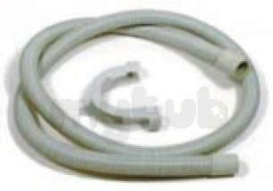 Indesit Domestic Spares -  Hotpoint 151541 Hose Drain With Cuff