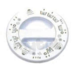 Indesit Domestic Spares -  Hotpoint 1600203 Timer Knob White 9537