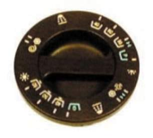 Indesit Domestic Spares -  Hotpoint 1600888 Timer Knob Brown