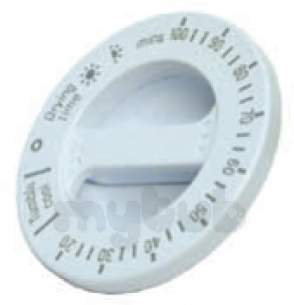 Indesit Domestic Spares -  Hotpoint 1600017 Timer Knob Dryer White