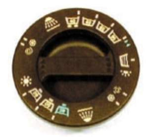 Indesit Domestic Spares -  Hotpoint 1600014 Timer Knob Brown Early