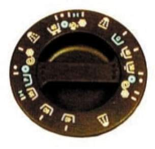 Indesit Domestic Spares -  Hotpoint 1600850 Timer Knob Brown 9506