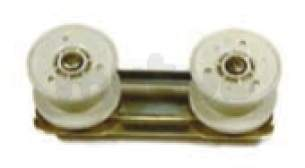 Indesit Domestic Spares -  Hotpoint 180667 Basket Roller Pack 6831