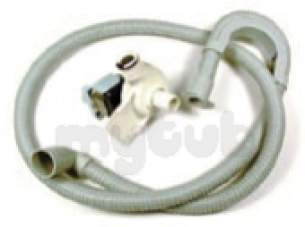 Indesit Domestic Spares -  Hotpoint 1800132 Pump Drain Kit C00209583