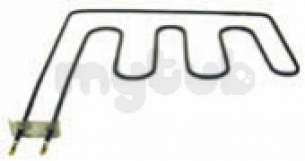 Indesit Domestic Spares -  Creda 6101412 Element Grill 48111