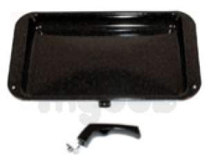 Indesit Domestic Spares -  Creda 6224952 Grill Pan C-w Handle 40121