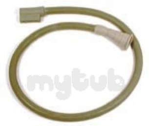Indesit Domestic Spares -  Hotpoint 146625 Hose Fill-drain D-end