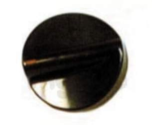 Indesit Domestic Spares -  Indesit C00100971 Timer Knob Brown
