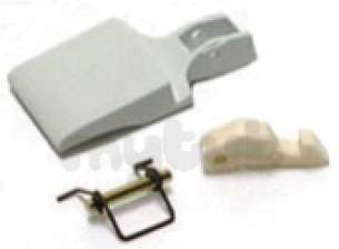 Indesit Domestic Spares -  Ariston C00041722 Door Handle Kit