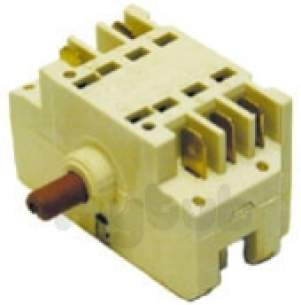 Indesit Domestic Spares -  Ariston C00049824 Switch Rotary 7 Pstn