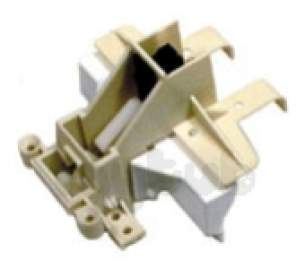 Indesit Domestic Spares -  Ariston C00048970 Door Catch Mech White