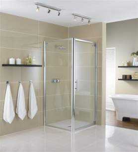 Showerlux Glide Enclosures -  Showerlux Glide 760mm Side Panel