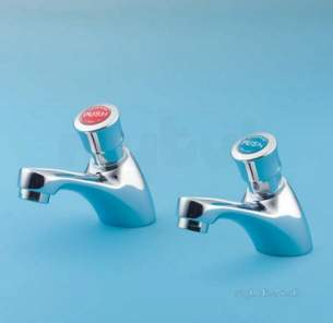 Armitage Shanks Domestic Brassware -  Armitage Shanks Sandringham S7029 Non-conc Pillar Taps Cp