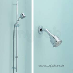 Ideal Standard Showers -  Ideal Standard Trevi Outline L6706 S/f Fixed Head Cp