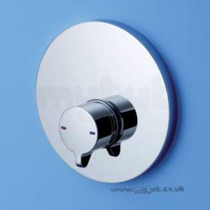Armitage Shanks Commercial Sanitaryware -  Armitage Shanks Avon 21 Built-in Self Closing Shower Mixer Chrome