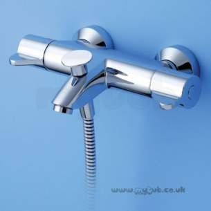 Armitage Shanks Commercial Sanitaryware -  Armitage Shanks Contour 21 Bsh Therm Mixer Expsd Chrome