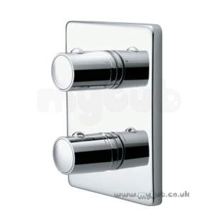 Ideal Standard Brassware -  Ideal Standard Is A3642aa Silver Flush Plate Cp