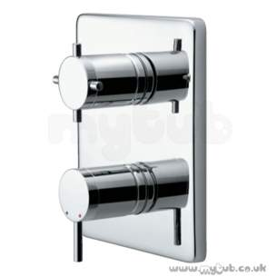 Ideal Standard Showers -  Ideal Standard Oposta A3974 Tt B/i S/thrm Trim Kit 2 Cp