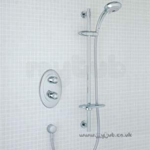Ideal Standard Showers -  Ideal Standard Kurve Tt Therm With M/shadow Kit Cp
