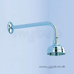 Ideal Standard Showers -  Ideal Standard Trevi E4596 4 Inch Traditional Fixed Head Cp