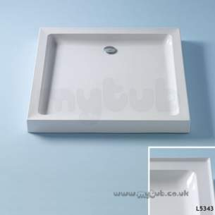 Trevi Showerworld Shower Trays -  Armitage Shanks Ideal Simplicity 900 X 900 S/tray 4ups Prg
