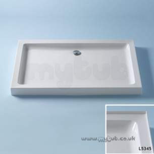 Trevi Showerworld Shower Trays -  Armitage Shanks Ideal Simplicity 1200 X 760 S/tray 4ups Wh