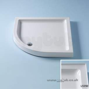 Trevi Showerworld Shower Trays -  Armitage Shanks Ideal Simplicity 900 Quad S/tray 3ups Pg