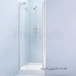 Bliss Shower Enclosures -  Armitage Shanks Bliss L8912 900mm Alc Enc Left Hand And F/pnl Cl