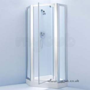 Ideal Standard Jado Showering -  Ideal Standard Joy L8261 700mm Pivot Door Si/cl