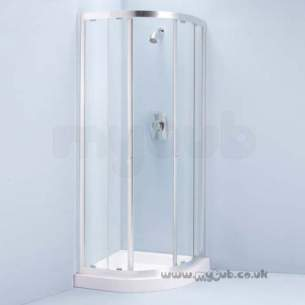 Ideal Standard Jado Showering -  Ideal Standard Joy L8290aa 800mm Quad Slv/clr
