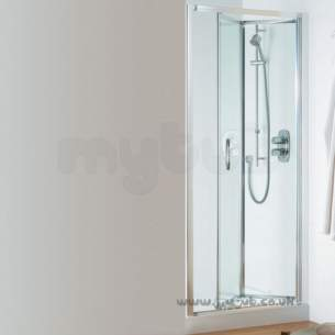 Ideal Standard Jado Showering -  Ideal Standard Joy Infold Door 850mm Silver Clear