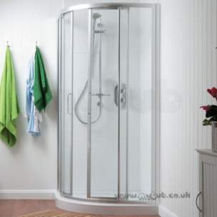 Trevi Shower Enclosures -  Ideal Standard Tipica R T2374yb Shower Encl 90 X 90 550mm
