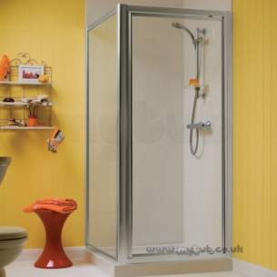 Trevi Shower Enclosures -  Ideal Standard Tipica L T2461yb 80 Shower Encl Side Panel 750-800