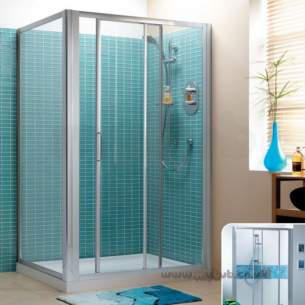 Trevi Shower Enclosures -  Ideal Standard Tipica Psc T2469yb 120 Shower Enc 1150-1200